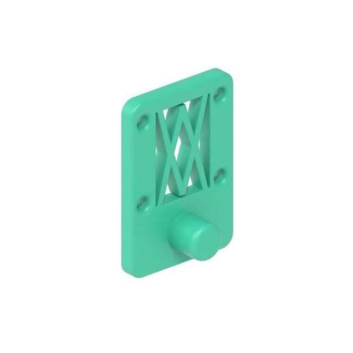 031_02.jpg Download free STL file Tool holder for oil filter socket 14 sided 031 I for screws or peg board • 3D print model, Wiesemann1893