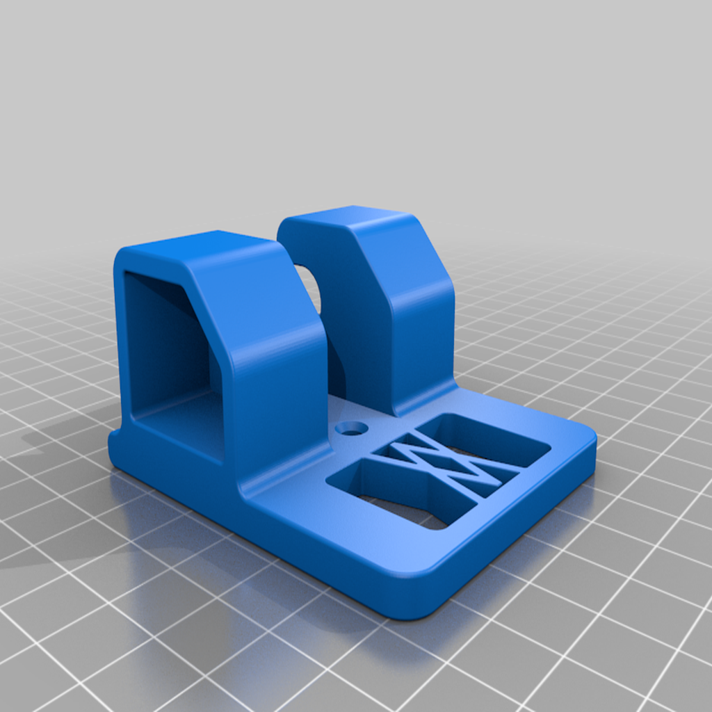 Ratsche_small_01.png Download free STL file Small Ratchet (1/4 Inch) Holder 046 I for screws or peg board • 3D printer template, Wiesemann1893