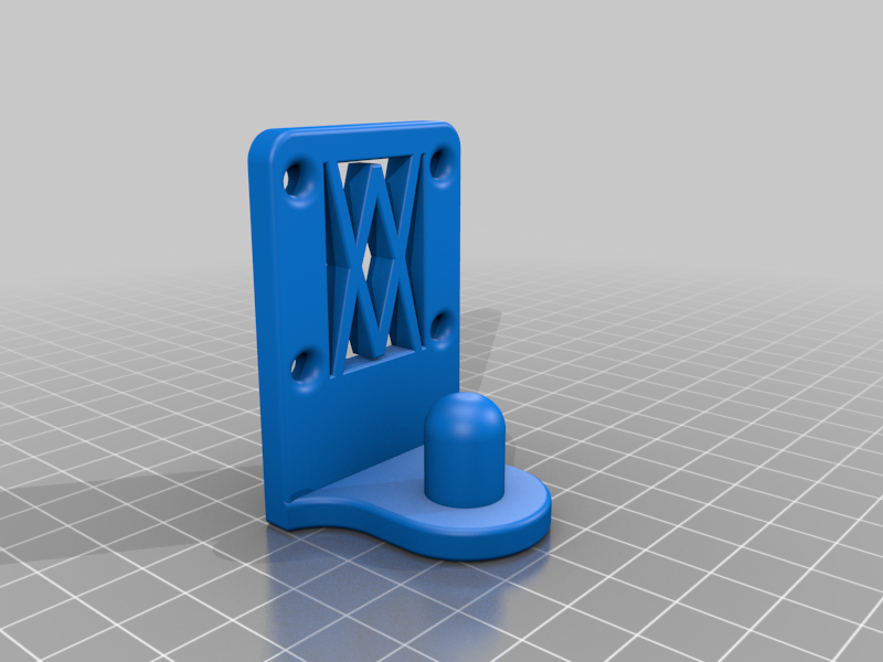 Screws.png Download free STL file Universal Wall Holder for 1/2 inch sockets 044 I for screws or peg board • 3D printer design, Wiesemann1893