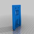enforce_32_screws.png Download free STL file Tool Holder for Wrecking Bar Small (325mm) 036 I ENFORCE I for screws or peg board • 3D printing template, Wiesemann1893