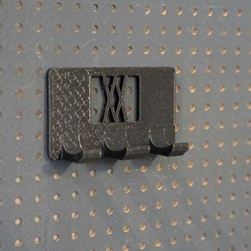 20181023-_DSC8217.jpg Download free STL file Wall Holder Chisel Set Tool Box 068 I for screws or peg board • 3D printable model, Wiesemann1893