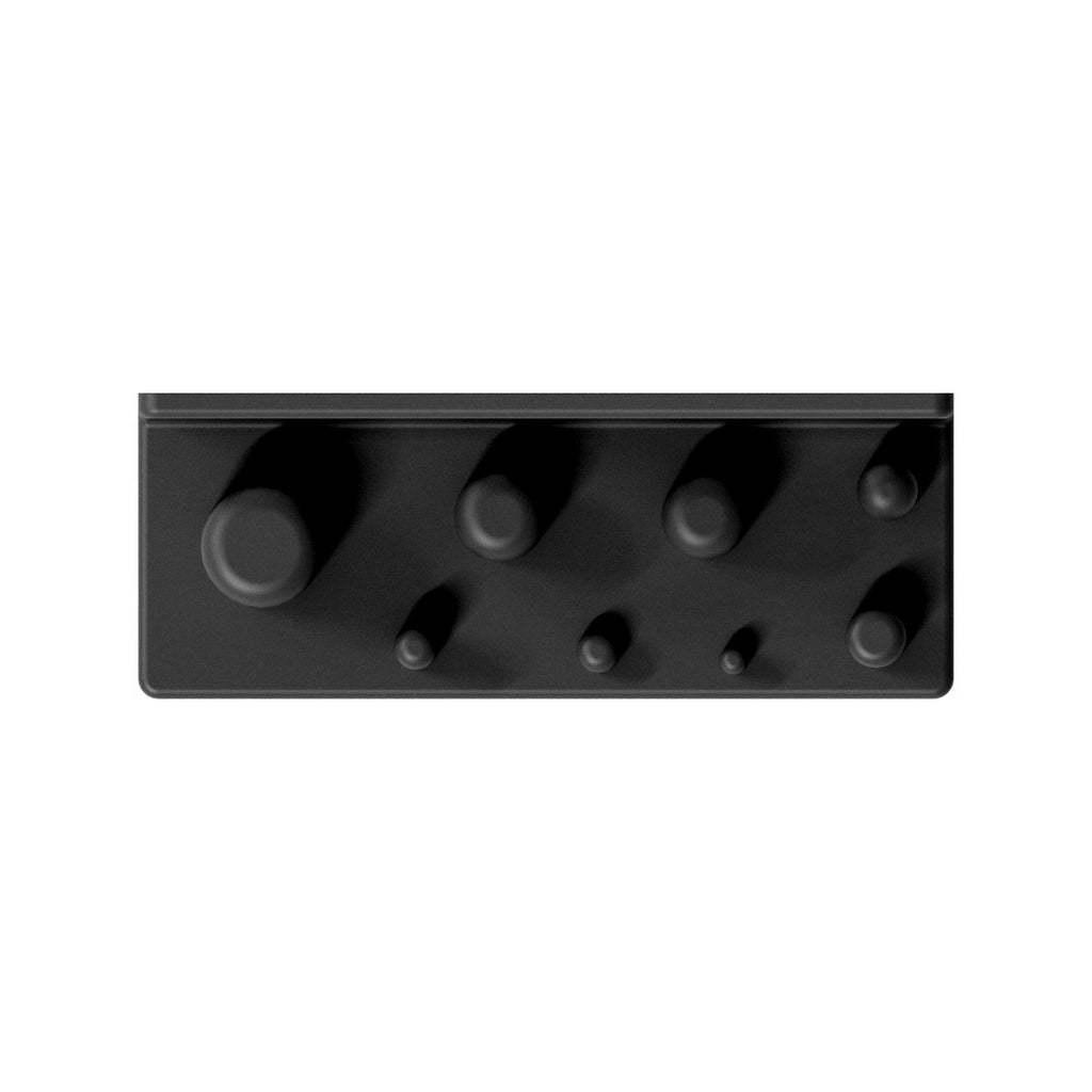 002_03_b.jpg Download free STL file Wall Mount for Power Adapter Set 8pcs 002 I for screws or peg board • 3D printer object, Wiesemann1893