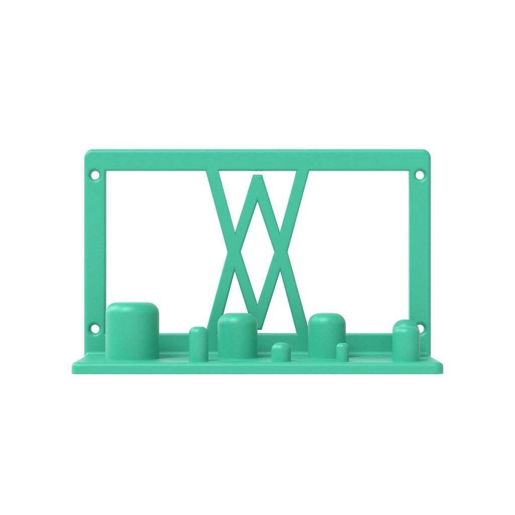 002_01.jpg Télécharger fichier STL gratuit Support mural pour adaptateur électrique 8pcs 002 I pour vis ou chevilles • Objet pour imprimante 3D, Wiesemann1893