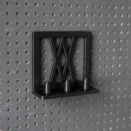005_1.jpg Download free STL file Tool Holder for Impact Socket Set 3pcs 1/2 Inch 005 I for screws or peg board • 3D printing template, Wiesemann1893