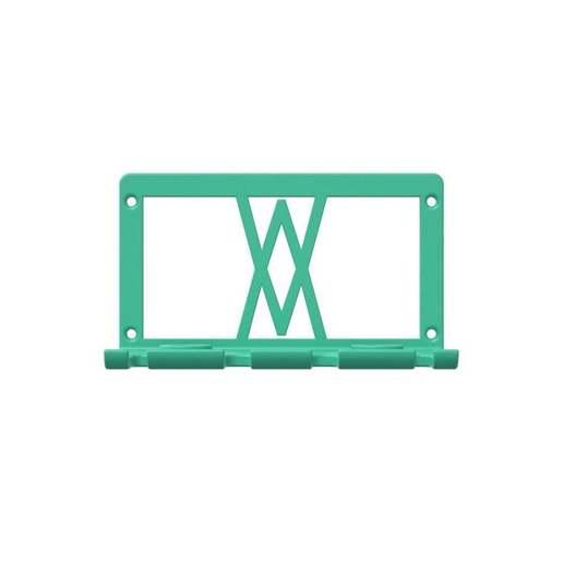 060_01.jpg Download free STL file Premium Screwdriver Set 6pcs Wall Mount 060 I for screws or peg board • 3D printing template, Wiesemann1893