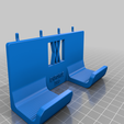 enforce_500_pins.png Download free STL file Large Engineers Hammer Holder 500g 029 I for screws or peg board • 3D print template, Wiesemann1893