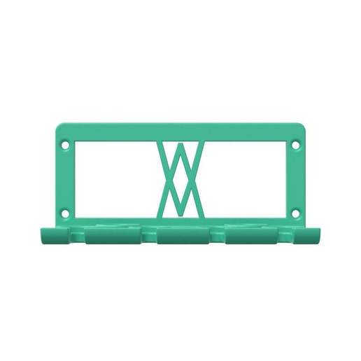 030_01.jpg Download free STL file TX Screwdriver Set 6pcs Holder for Wall 058 I for screws or peg board • 3D print template, Wiesemann1893