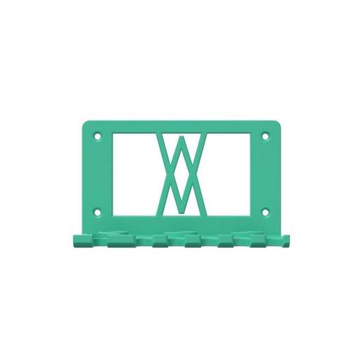 059_r_01.jpg Download free STL file Tool Holder for 18pcs Screwdriver Set 059 I for screws or peg board • 3D printing template, Wiesemann1893