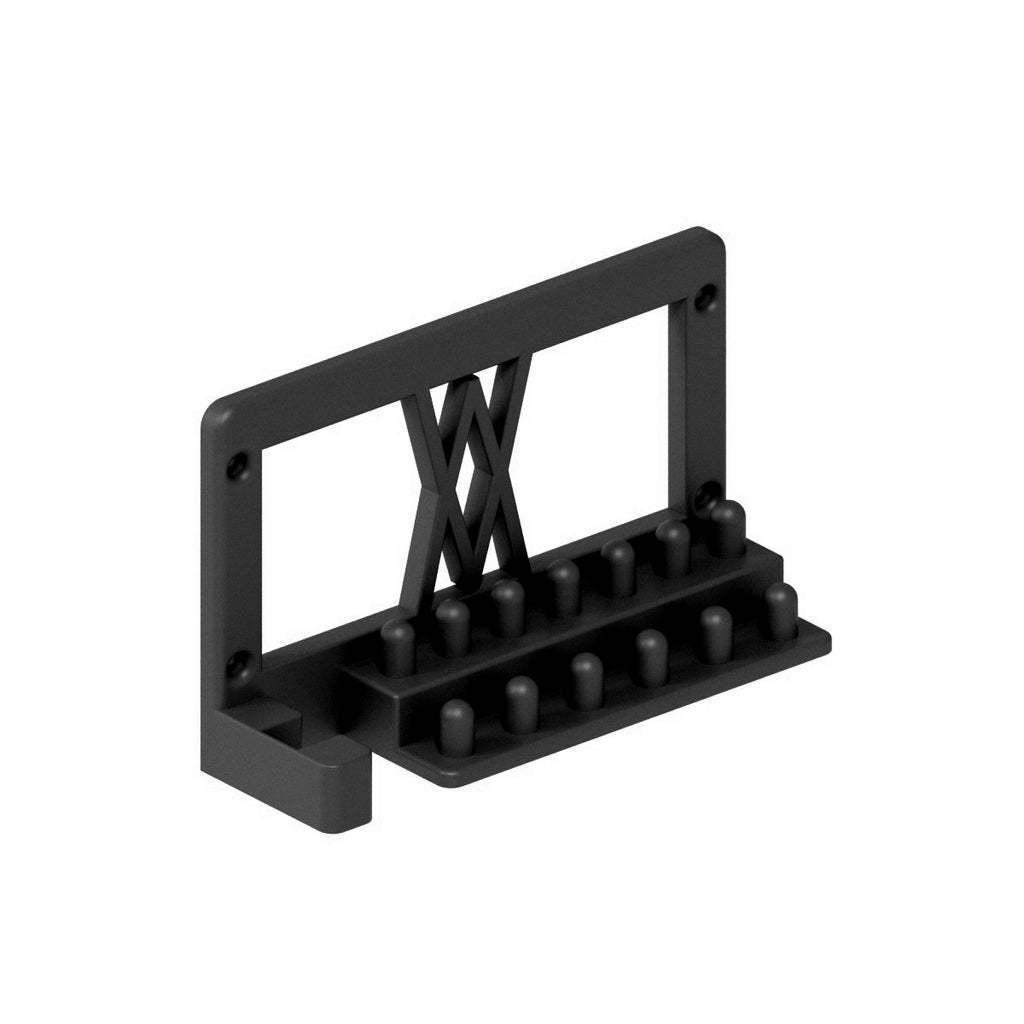 """007_02_b.jpg Télécharger fichier STL gratuit Support pour jeu de clés à douille 28pcs 1/4"""" avec barre de rallonge et douilles pour support mural 007 • Modèle imprimable en 3D, Wiesemann1893"""