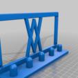 Screws.png Download free STL file Impact Socket Holder Set 5pcs 1/2 Inch 017 I for screws or peg board • 3D printing template, Wiesemann1893
