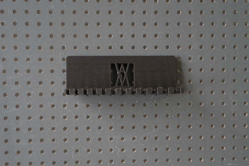 056_Foto_6.jpg Download free STL file Combination Spanner Set 12pcs metric 6-22mm Wall Holder 056 I for screws or peg board • 3D print design, Wiesemann1893