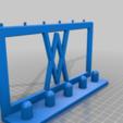 Pins.png Download free STL file Impact Socket Holder Set 5pcs 1/2 Inch 017 I for screws or peg board • 3D printing template, Wiesemann1893