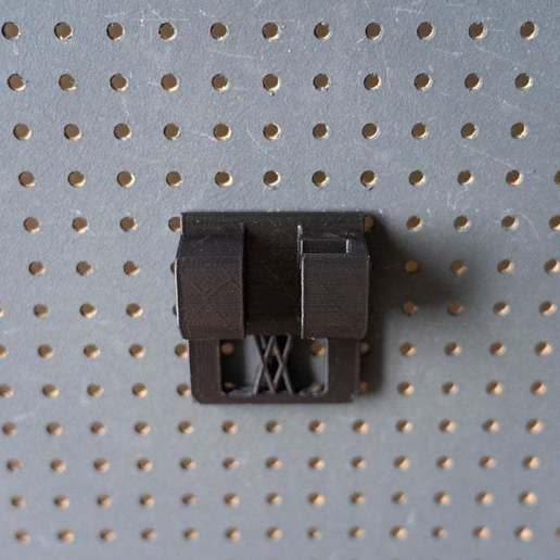 046_5.jpg Download free STL file Small Ratchet (1/4 Inch) Holder 046 I for screws or peg board • 3D printer template, Wiesemann1893