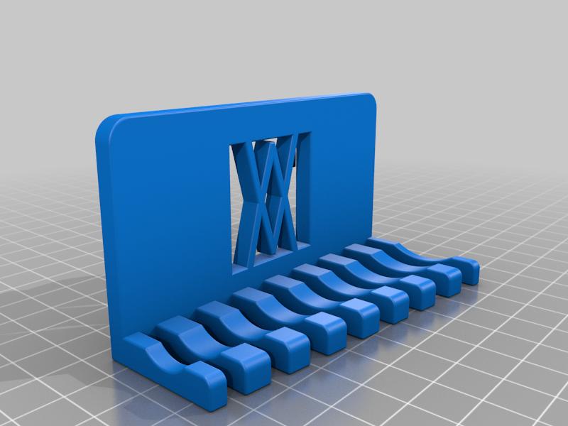 011_ikea_pegboard.png Download free STL file Combination Spanner Set 8pcs metric 8-19mm Wall Holder 011 I for screws or peg board • 3D printer model, Wiesemann1893