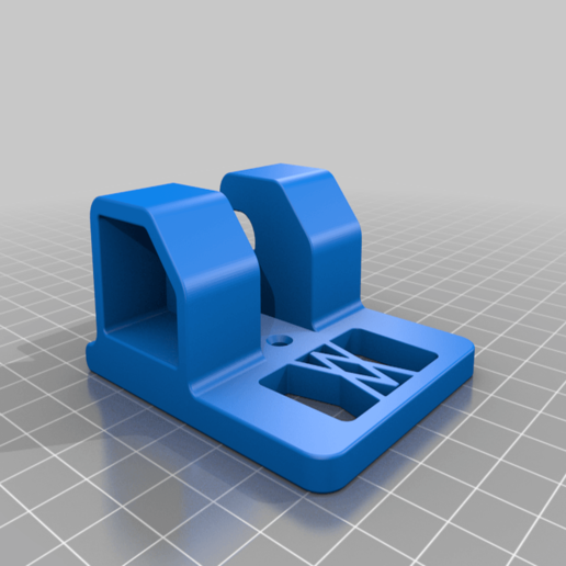 Ratsche_small_01.png Download free STL file Ratchet (3/8 Inch) Wall Mount 047 I for screws or peg board • 3D printable object, Wiesemann1893
