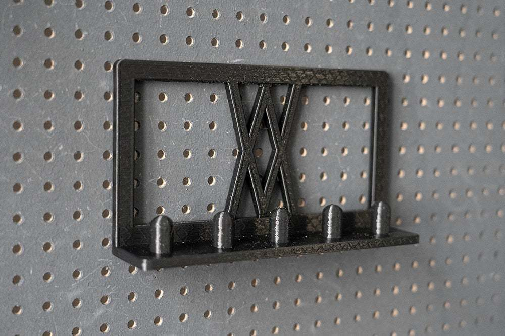 017_4_klein.jpg Download free STL file Impact Socket Holder Set 5pcs 1/2 Inch 017 I for screws or peg board • 3D printing template, Wiesemann1893