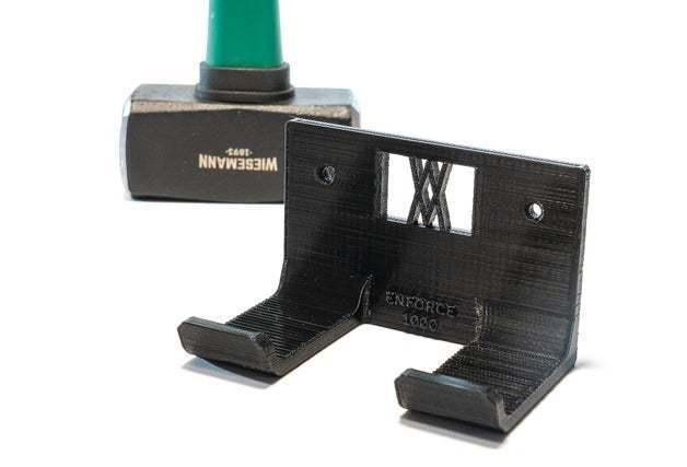 _DSC1788.jpg Download free STL file Club Hammer 1000 Grams holder 038 I ENFORCE I for screws or peg board • 3D printer template, Wiesemann1893