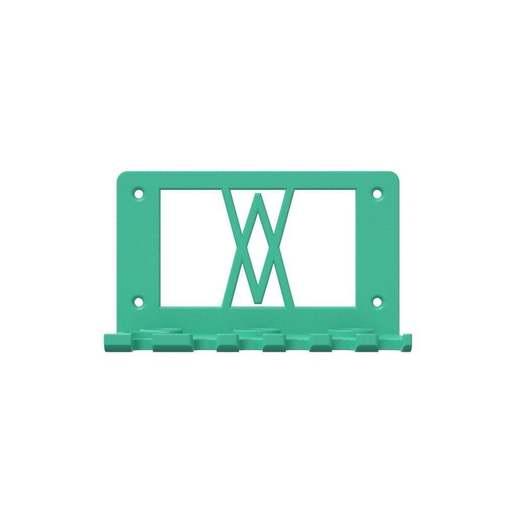 059_l_01.jpg Download free STL file Tool Holder for 18pcs Screwdriver Set 059 I for screws or peg board • 3D printing template, Wiesemann1893