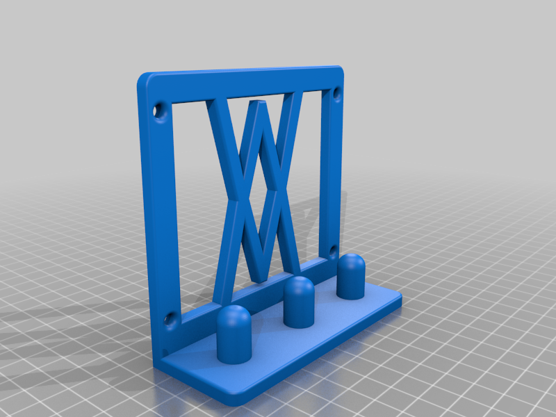 Screws.png Download free STL file Tool Holder for Impact Socket Set 3pcs 1/2 Inch 005 I for screws or peg board • 3D printing template, Wiesemann1893