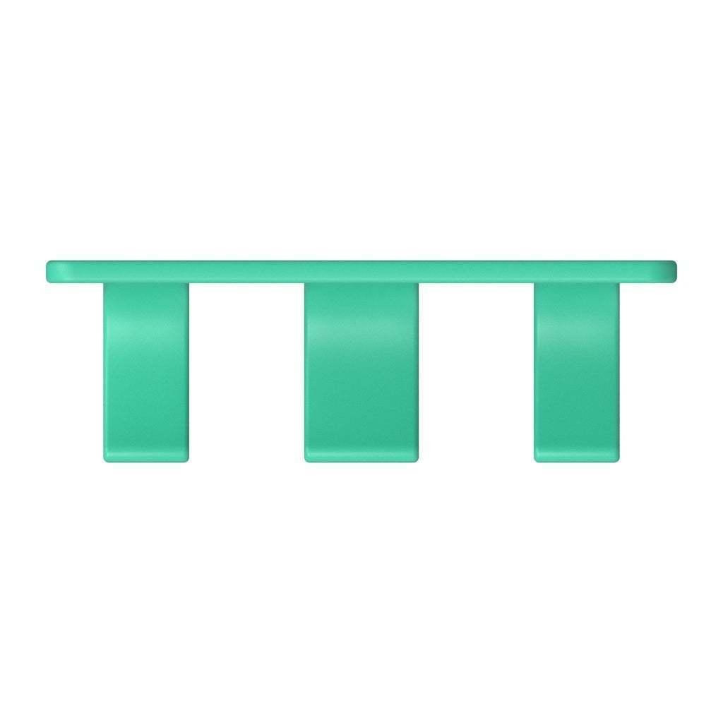 068_03.jpg Download free STL file Wall Holder Chisel Set Tool Box 068 I for screws or peg board • 3D printable model, Wiesemann1893