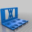 Screws.png Download free STL file Holder for Electrician Screwdriver Set 7pcs 012 I for screws or peg board • 3D print model, Wiesemann1893