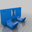 enforce_16_screws.png Download free STL file Tool Holder for Claw Hammer 16oz 034 I ENFORCE I for screws or peg board • 3D printer design, Wiesemann1893