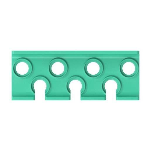 013_03.jpg Download free STL file Socket Wrench Screwdriver Set 7pcs Tool Holder 013 I for screws or peg board • Design to 3D print, Wiesemann1893