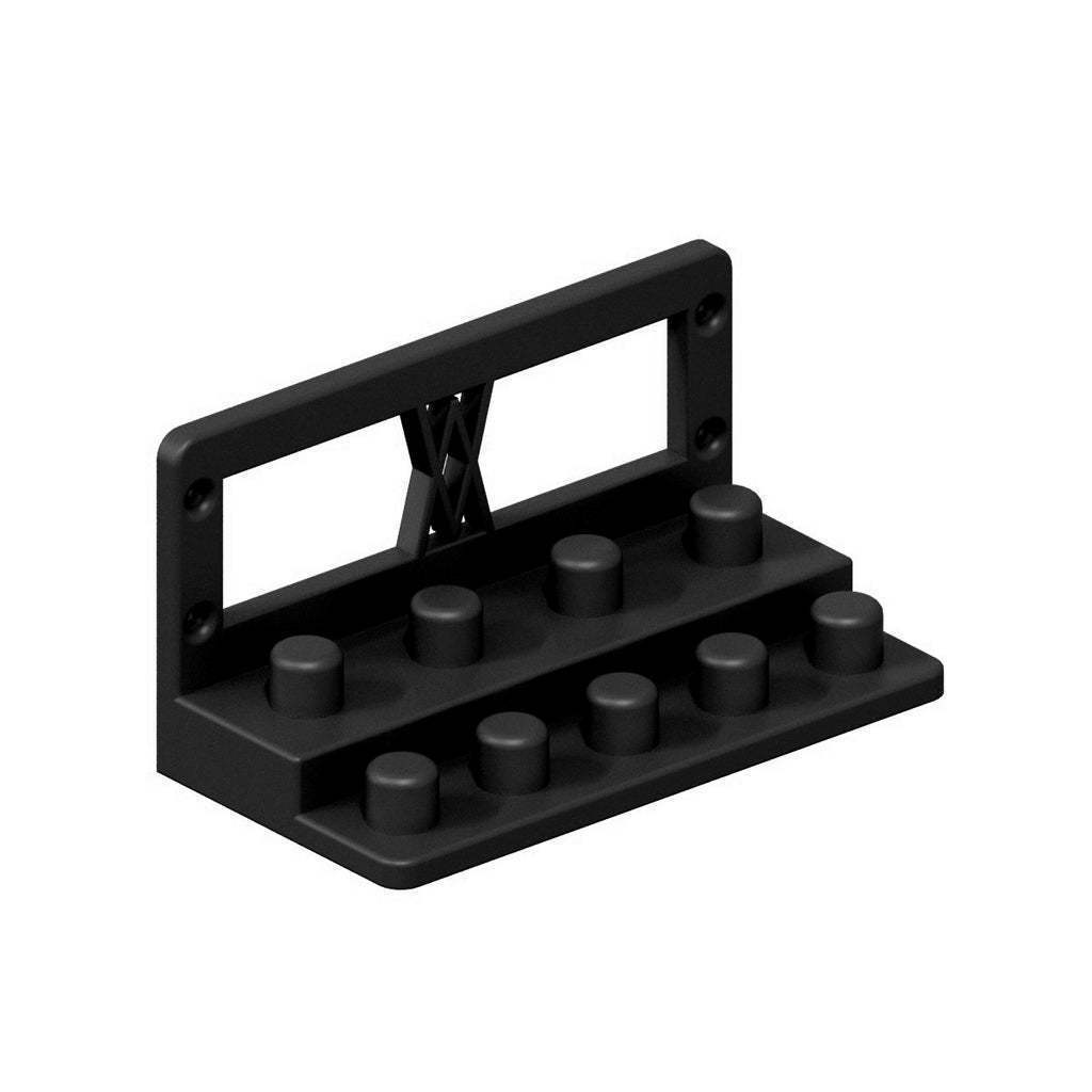 010a_02_b.jpg Download free STL file Tool Holder for TX Socket Set 19pcs 010 I for screws or peg board • 3D printable template, Wiesemann1893