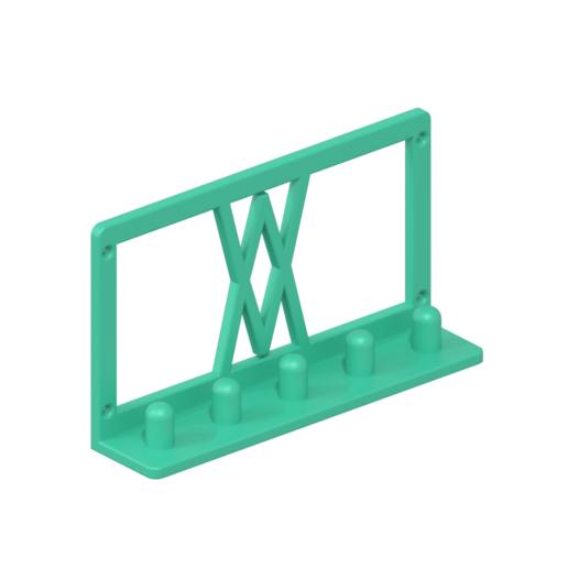 017_02.png Download free STL file Impact Socket Holder Set 5pcs 1/2 Inch 017 I for screws or peg board • 3D printing template, Wiesemann1893