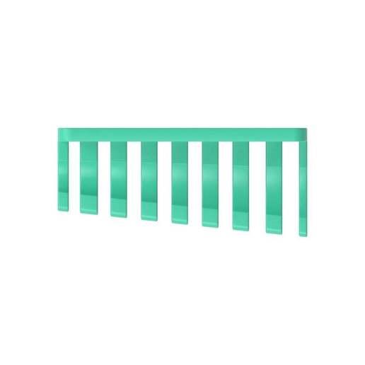 011_03.jpg Download free STL file Combination Spanner Set 8pcs metric 8-19mm Wall Holder 011 I for screws or peg board • 3D printer model, Wiesemann1893