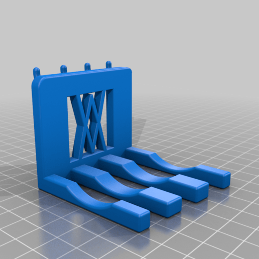 Part_4.png Download free STL file XXL Combination Spanner Set 26pcs metric 6-32 mm Wall Holder 016 I for screws or peg board • 3D printable model, Wiesemann1893