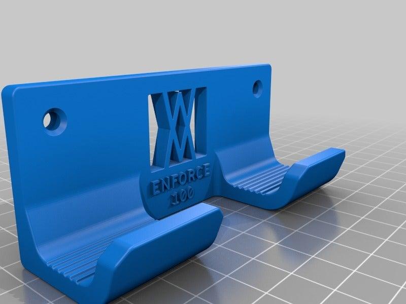 c6fd8adee35f003f71fd7e7687055863.png Download free STL file Engineers Hammer Holder 100g 027 I for screws or peg board • 3D printer model, Wiesemann1893