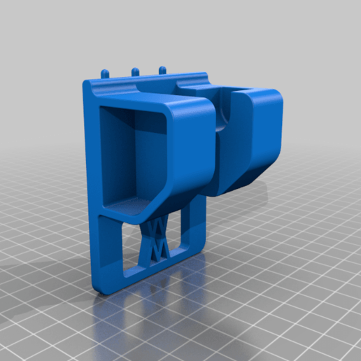 047_pins.png Download free STL file Ratchet (3/8 Inch) Wall Mount 047 I for screws or peg board • 3D printable object, Wiesemann1893