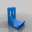 enforce_4500_test_seitenwand_gespiegelt.png Download free STL file XXL Sledgehammer Holder (4.5kg/10lb) 033 I ENFORCE I for screws or peg board • 3D print design, Wiesemann1893
