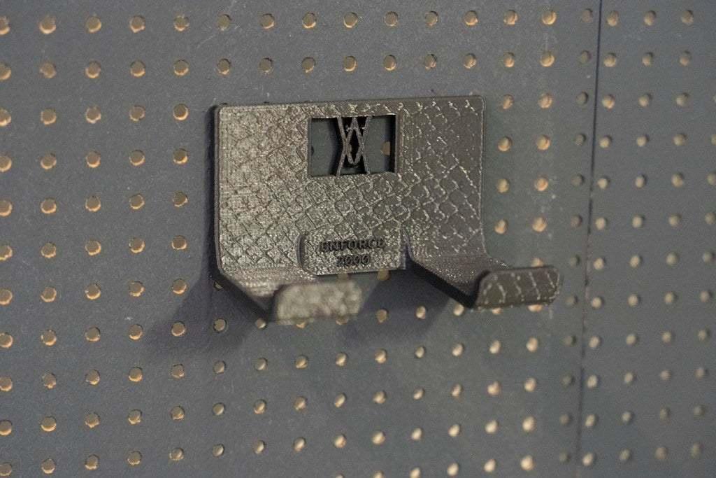 20181023-_DSC8224.jpg Download free STL file XXL Club Hammer 2000 Grams holder 041 I ENFORCE I for screws or peg board • 3D print template, Wiesemann1893