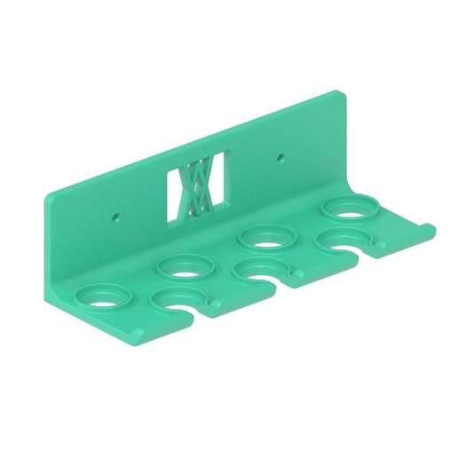 013_02.jpg Download free STL file Socket Wrench Screwdriver Set 7pcs Tool Holder 013 I for screws or peg board • Design to 3D print, Wiesemann1893