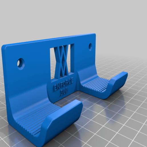 enforce_300_screws.png Download free STL file Engineers Hammer Holder 300g 028 I for screws or peg board • Model to 3D print, Wiesemann1893