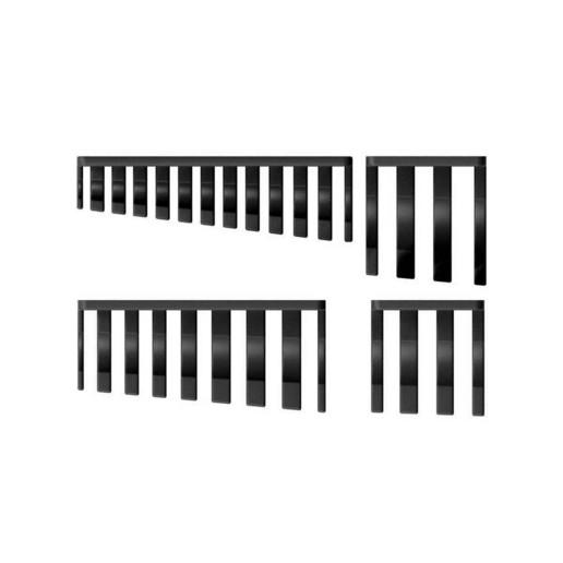 016_03_b.jpg Download free STL file XXL Combination Spanner Set 26pcs metric 6-32 mm Wall Holder 016 I for screws or peg board • 3D printable model, Wiesemann1893