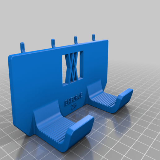 Download free STL file Tool Holder for Claw Hammer 20oz / for screws or peg board • 3D printer model, Wiesemann1893