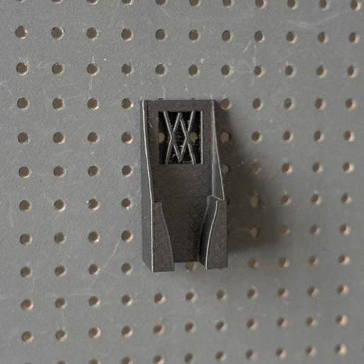 057_Foto.jpg Download free STL file Small 4-in-1 Ratchet Key Holder (8-13mm) 057 I for screws or peg board • 3D printable template, Wiesemann1893