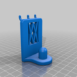 Pins.png Download free STL file Universal Wall Holder for 1/2 inch sockets 044 I for screws or peg board • 3D printer design, Wiesemann1893