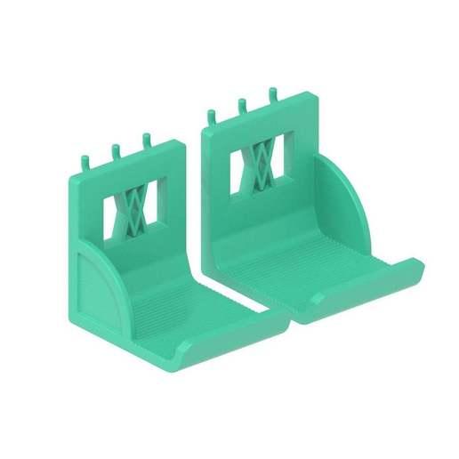 033_02.jpg Download free STL file XXL Sledgehammer Holder (4.5kg/10lb) 033 I ENFORCE I for screws or peg board • 3D print design, Wiesemann1893
