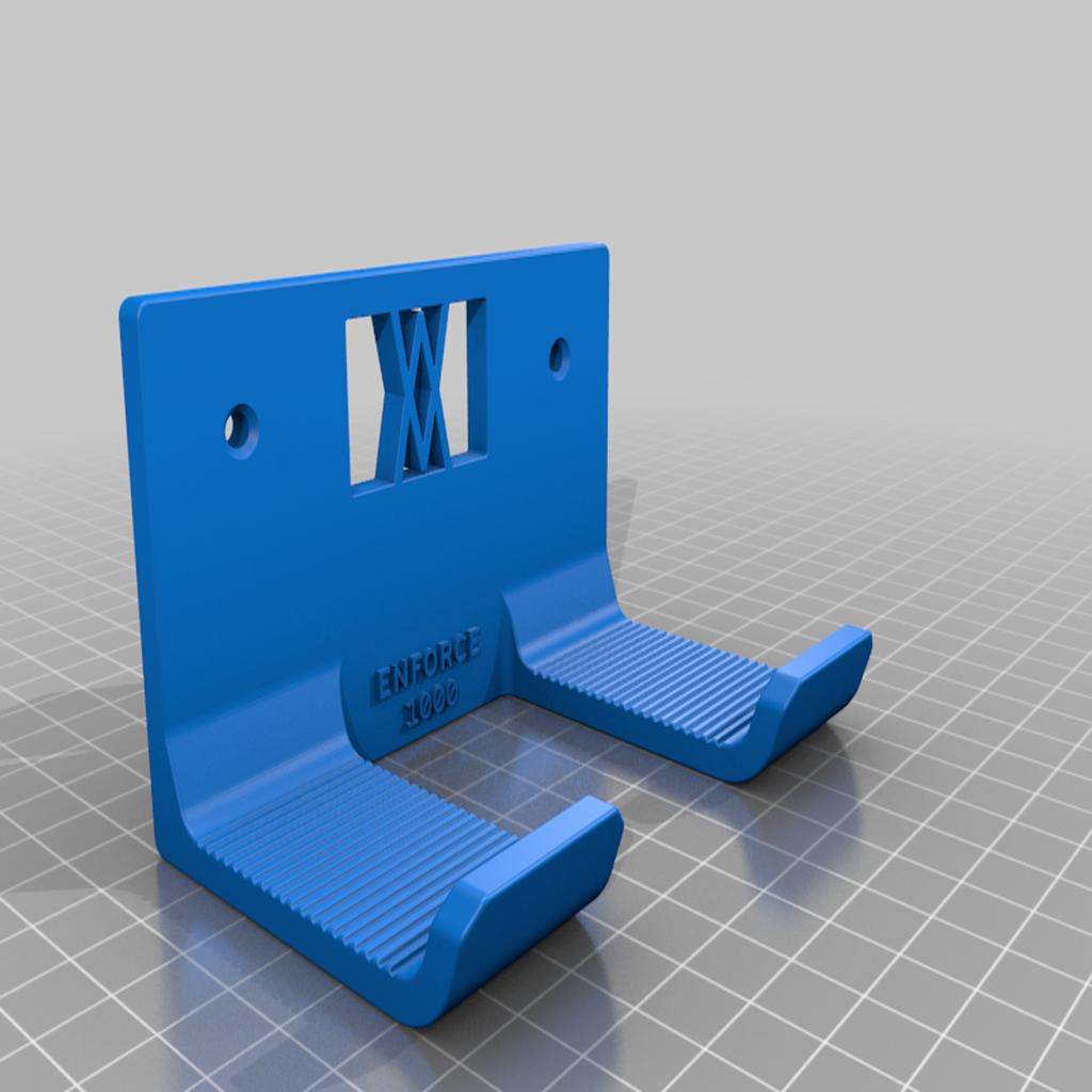 enforce_1000_screws.png Download free STL file Club Hammer 1000 Grams holder 038 I ENFORCE I for screws or peg board • 3D printer template, Wiesemann1893