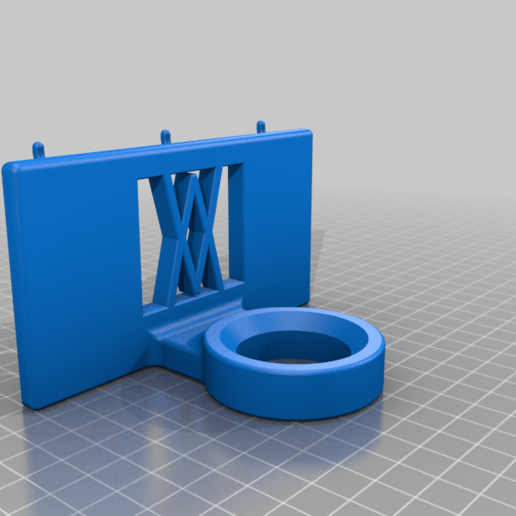 Pins.png Download free STL file Tool Holder for Leg Puller 043 I for screws or peg board • 3D printing model, Wiesemann1893
