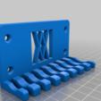 011_Screws.png Download free STL file Combination Spanner Set 8pcs metric 8-19mm Wall Holder 011 I for screws or peg board • 3D printer model, Wiesemann1893