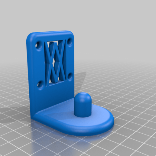 screws.png Download free STL file XXL Wall Holder for 1/2 inch sockets larger than 30mm 045 I for screws or peg board • 3D printable model, Wiesemann1893