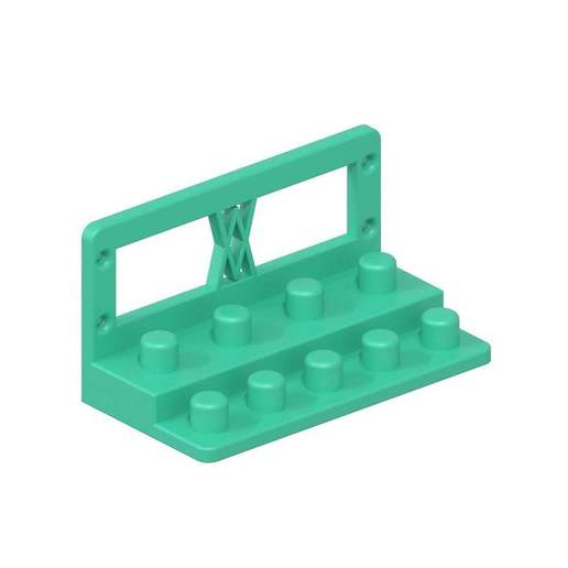 010a_02.jpg Download free STL file Tool Holder for TX Socket Set 19pcs 010 I for screws or peg board • 3D printable template, Wiesemann1893