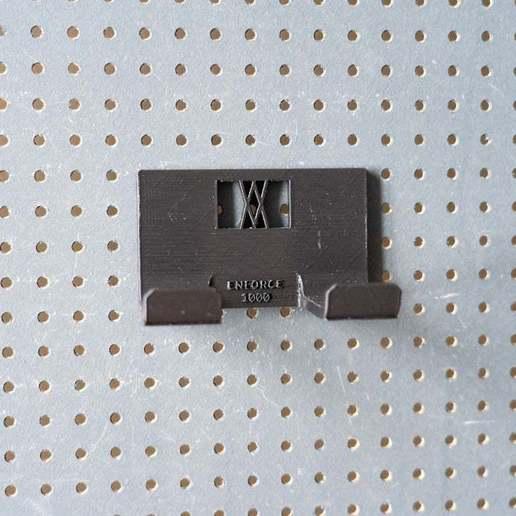 038_1.jpg Download free STL file Club Hammer 1000 Grams holder 038 I ENFORCE I for screws or peg board • 3D printer template, Wiesemann1893