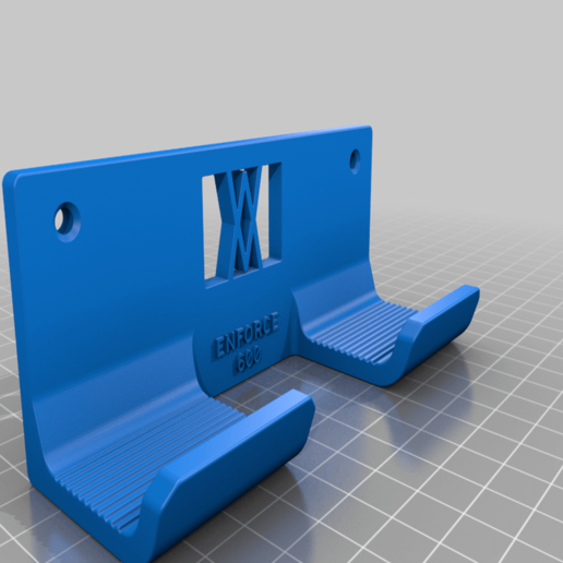 enforce_600_screws.png Download free STL file Tool Holder for Claw Hammer 600g 042 I ENFORCE I for screws or peg board • 3D printing model, Wiesemann1893