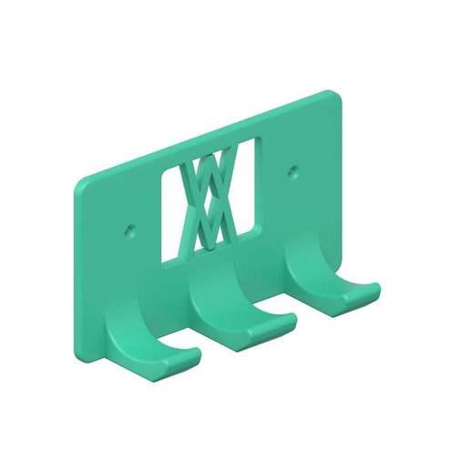 068_02.jpg Download free STL file Wall Holder Chisel Set Tool Box 068 I for screws or peg board • 3D printable model, Wiesemann1893